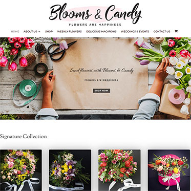 Blooms & Candy - Web Development Consulting