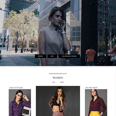 Canada Clothing Company - Ecommerce Website consulting