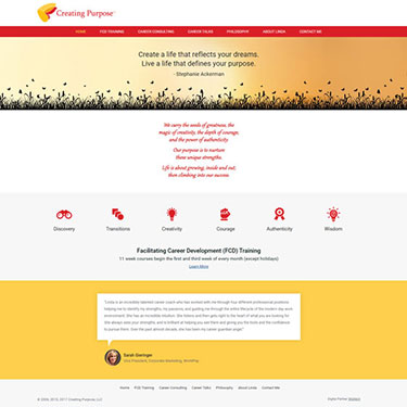Creating Purpose - Corporate Web Development Consulting Services
