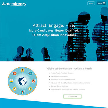 Data Frenzy - Corporate Website Development Consultancy