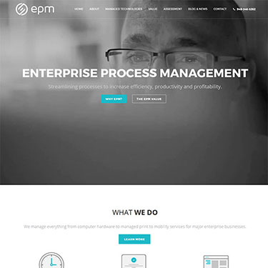 EPM - Corporate Web Design Consultancy