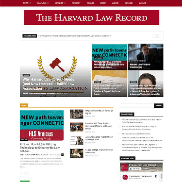The Harvard Law Record - Wordpress Website Consultation Services