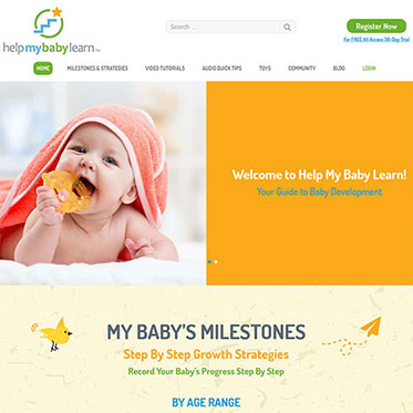 Help My Baby Learn - Web Development Consulting