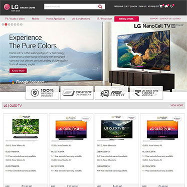 LG India's Official - Ecommerce Consultant
