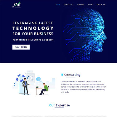 SaitSys - Corporate Web Design Consulting Services