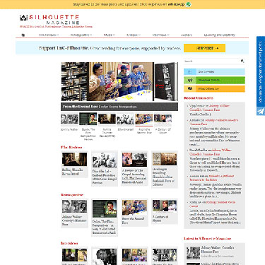 Silhouette Magazine - Wordpress Consulting Experts