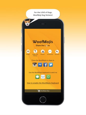 WoofMojis - Android App Consultant
